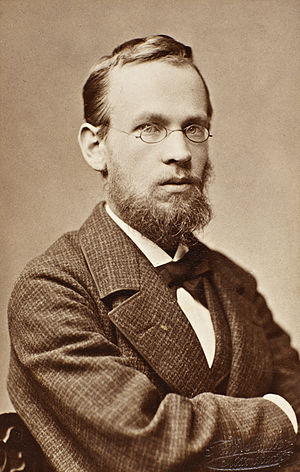 Erik Werenskiold - Erik Werenskiold in 1880