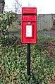 Post box on Grammar School Lane, West Kirby 2020.jpg