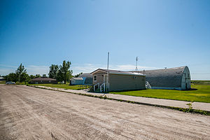 Alsen, North Dakota - Post office in Alsen