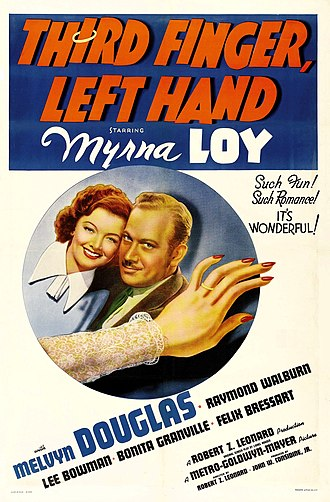Third Finger, Left Hand (film) - Theatrical release poster