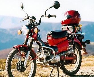 """Honda CT series - Australian CT110 """"Postie Bike"""""""