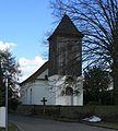 Potsdam OT Uetz-Paaren Dorfkirche Baudenkmal.JPG