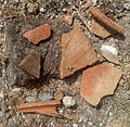 Potsherds at Grandhasiri Buddhist site 05.jpg