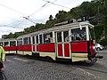 Průvod tramvají 2015, 14a - tramvaj 3063 a 1580.jpg