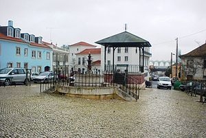 Olivais (Lisbon) - Praça da Viscondessa dos Olivais, in the old part of Olivais
