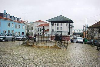 Olivais (Lisbon) - Praça da Viscondessa dos Olivais, in the old part of Olivais