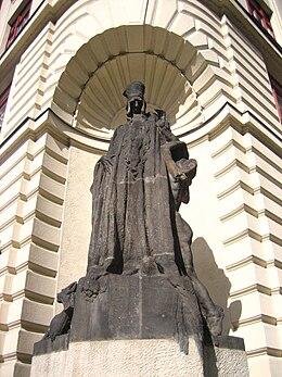 Praha, Mariánské náměstí, Maharal.jpg