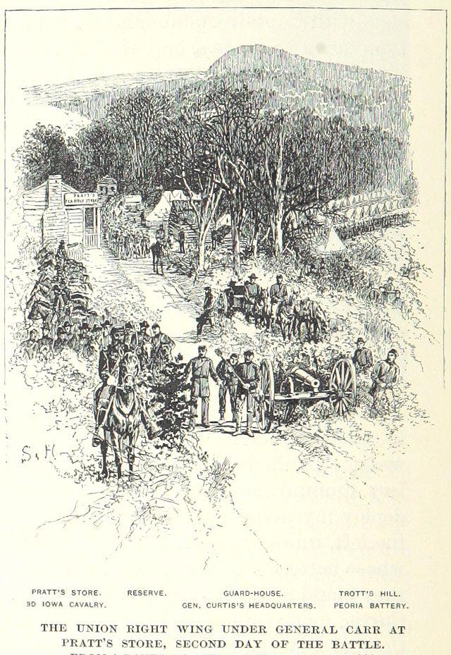 Battle Of Pea Ridge Elkhorn Tavern