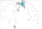 Prefectures of Attica athens