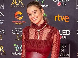 Carla Campra Spanish actress