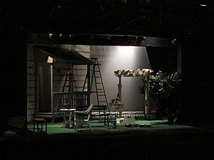 Theatre Intime - Preparing for the production of All My Sons