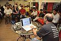 Presentation Session - Wikilearnopedia - Oxford Bookstore - Kolkata 2015-08-23 3657.JPG
