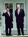 President Estrada and President Bill Clinton standing (2000).jpg