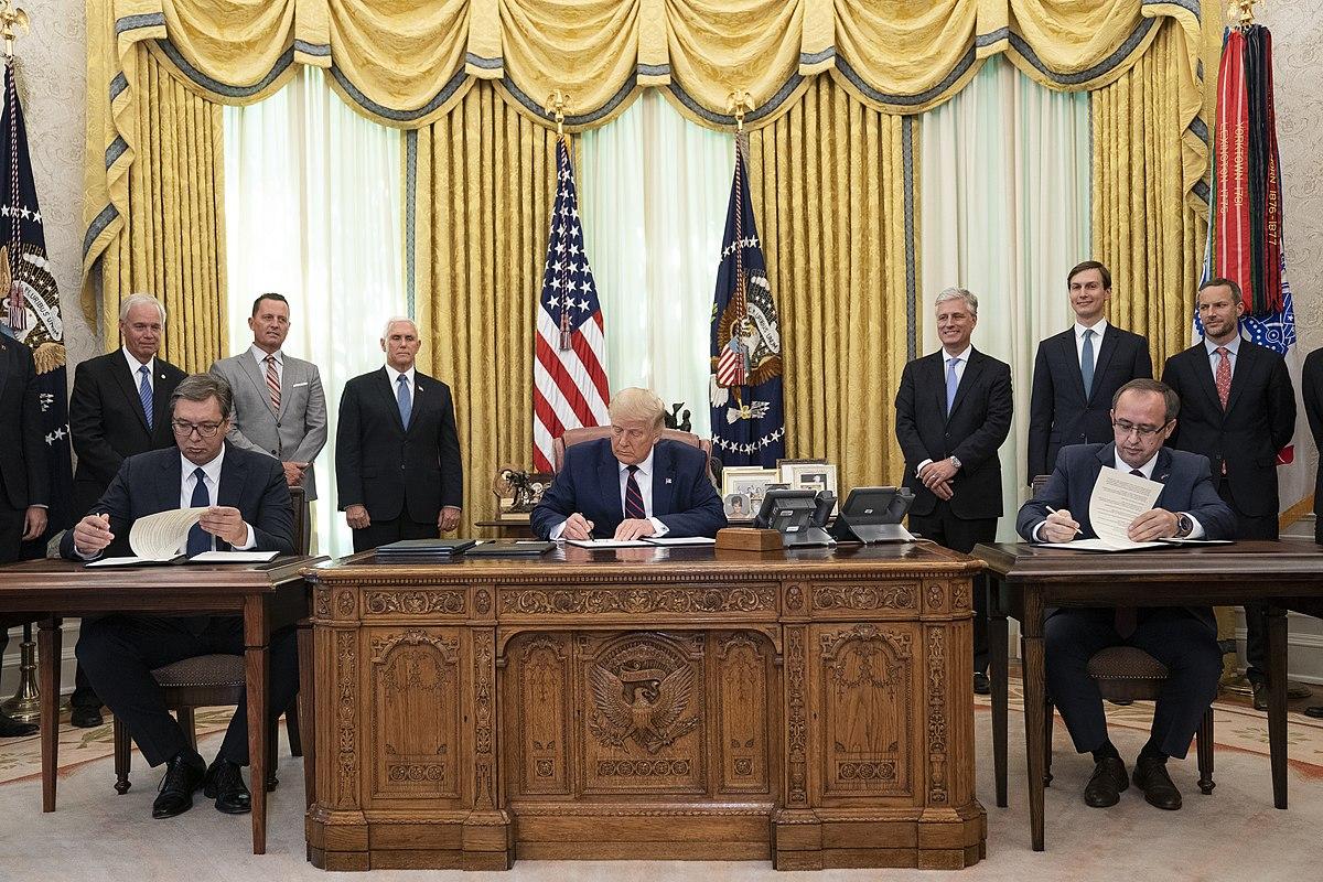 2020 Kosovo–Serbia agreement - Wikipedia