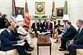 President Trump and the First Lady Visit with the President of Turkey and Mrs. Emine Erdogan (49061400651).jpg
