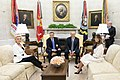 President Trump and the First Lady Welcome the President of the Republic of Poland and Mrs. Agata Kornhauser-Duda (43860910935).jpg