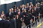 Presidente de la República rindió homenaje a miembros de fuerzas armadas que participaron en emergencia climática (35394487464).jpg