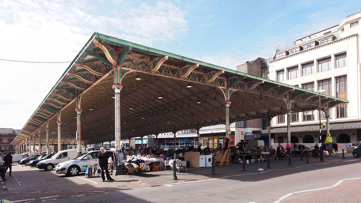 covered market  preston