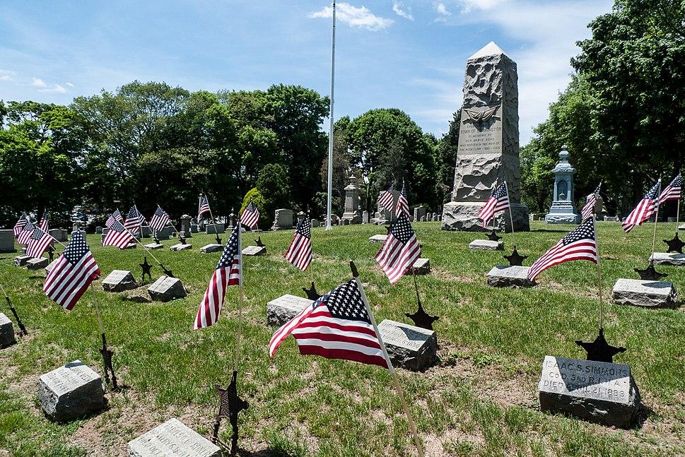Princes Hill Cemetery, Barrington Rhode Island