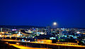 Prishtina at night Wiki Academy II.jpg