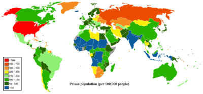 Prisoner population rate world map.png