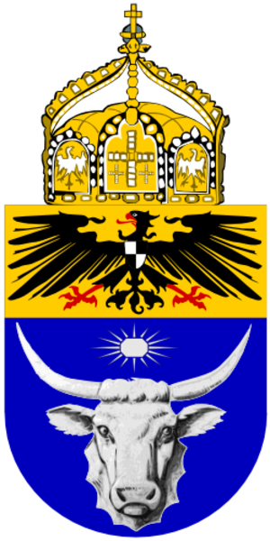 Coats of arms of German colonies - Image: Proposed Coat of Arms Southwest Africa 1914