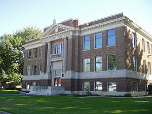 National Register of Historic Places listings in Benton County, Washington - Image: Prosser Court House