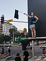 Protester against netanyahu on aluf sade road.jpg