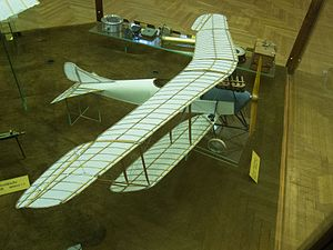 Prototype model of biplane (27184457773).jpg