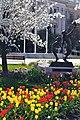 Provo courthouse garden, Spring 2008.jpg