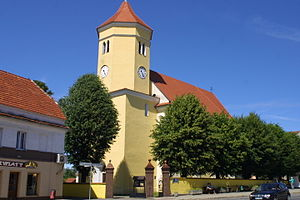 Przemków - Town church