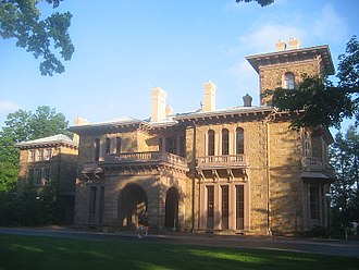 Woodrow Wilson - Prospect House, Wilson's home on Princeton's campus