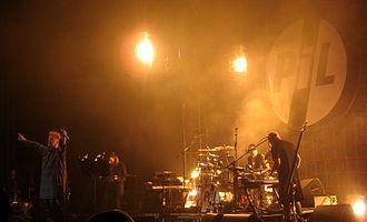 Public Image Ltd - PiL performing in 2009