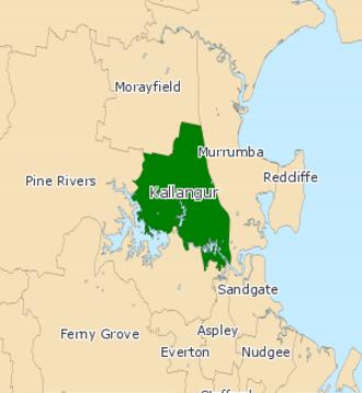 Electoral district of Kallangur - Kallangur (2008–2017)