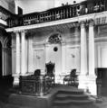 Queensland State Archives 197 Speakers chair Parliament House Alice Street Brisbane c 1934.png