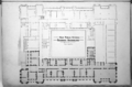 Queensland State Archives 2571 Architectural plan of the ground floor in the New Public Offices Brisbane 1888.png
