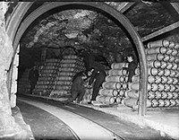 RAF-Munitionslager Fauld im ehem. Gipsbergwerk
