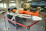 RIM-7 Sea Sparrow right front view in JMSDF 1st Service School May 6, 2019.jpg