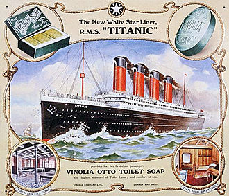 White Star Line - Titanic of 1912 (46,328 GRT)