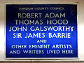 ROBERT ADAM THOMAS HOOD JOHN GALSWORTHY SIR JAMES BARRIE AND OTHER EMINENT ARTISTS AND WRITERS LIVED HERE.jpg