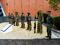 ROCA Special Force Team Line up at Armor School 20130302.jpg