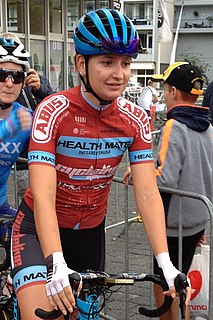 Kylie Waterreus Dutch cyclist