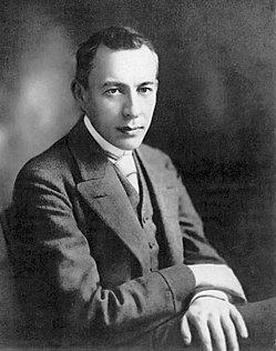 Portrait de Sergueï Rachmaninov (source: Wikipedia)