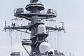 Radar antennas on JS DD115 Akizuki at Nagoya (2013 August 4th) 3.jpg