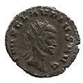 Radiate of Claudius II Gothicus (YORYM 2001 6659) obverse.jpg