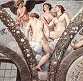 Raffaello Santi - Cupid and the Three Graces (detail).jpg