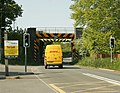 Railway bridge over the A360 - geograph.org.uk - 1303856.jpg