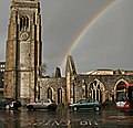 Rainbow over Charles Church - geograph.org.uk - 284544.jpg