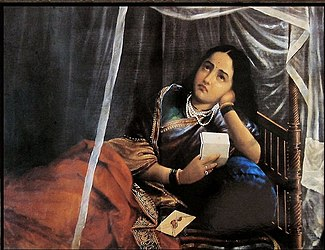 Raja Ravi Varma, Disappointing News.jpg