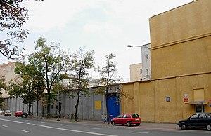 1951 Mokotów Prison execution - Main gate of prison